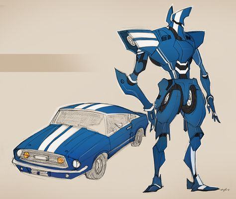 classic car robo 01 by Gingashi.deviantart.com on @deviantART ★ || CHARACTER DESIGN REFERENCES (www.facebook.com/CharacterDesignReferences & pinterest.com/characterdesigh) • Love Character Design? Join the Character Design Challenge (link→ www.facebook.com/groups/CharacterDesignChallenge) Share your unique vision of a theme every month, promote your art and make new friends in a community of over 20.000 artists! || ★