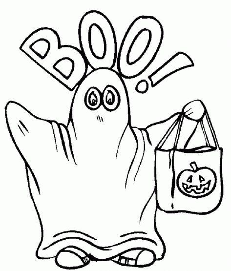 Il fantasma Boo di Halloween da stampare e da colorare  1e5d4193df5e