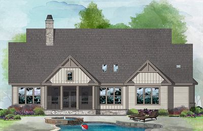 House Plan The Dawson By Donald A Gardner Architects Craftsman House Plans Craftsman Style House Plans Farmhouse Style House