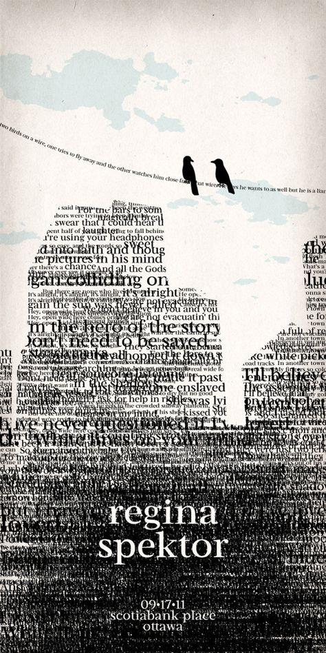 Regina - Typography Poster