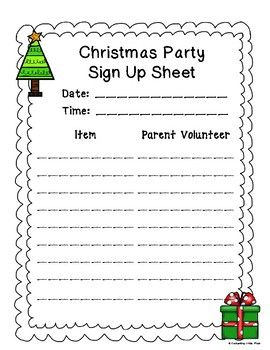 Pin On Party Sign Up