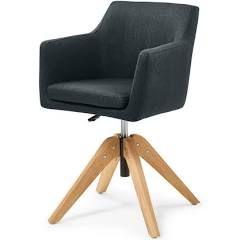 Bürostuhl Portmore Kunstleder Arbeitsstuhl Schreibtischstuhl Drehstuhl Lehnstuhl