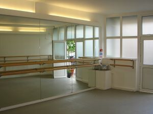 Our Optimax Studio Mirrors And Duratrack Curtains Installed In