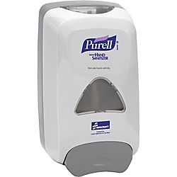 Purell Instant Hand Sanitizer Foam Dispenser 10 3 5 H X 6 1 10 W