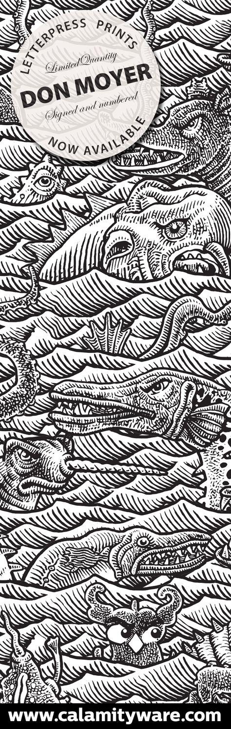 Don Moyer's letterpress print