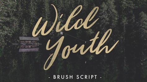 20 Top Free Brush Fonts Calligraphy Fonts Brush Font Hand