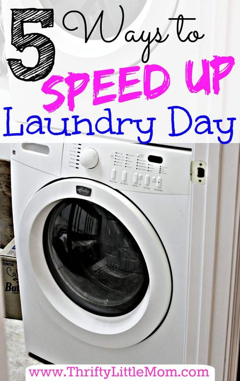 Is your #laundry taking up too much of your time? Check out these 5 ways to speed up the process