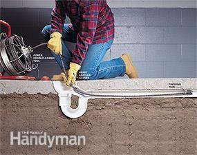 How To Unclog A Drain Floor Drains Drain Repair Plumbing Drains