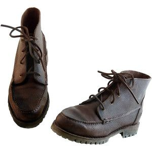 Vintage 90s Timberland Chukka Desert Ankle Boots Redwood