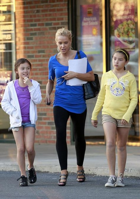 John and Kate plus eight was once just John and Kate, parents to twins Cara and Mady born in 2000.