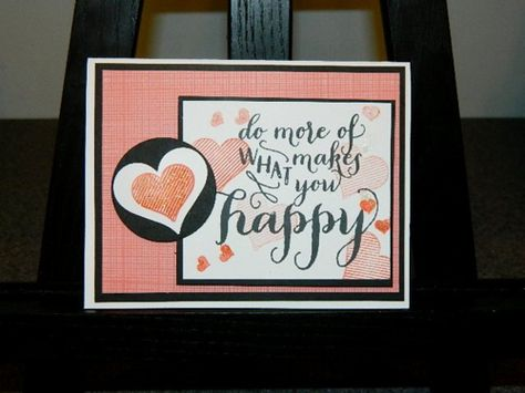 Hello Life, Stampin' UP! Clean and Simple cards. Hi Everyone...do more of what makes me happy? That would be stamping!! Happy Crafting ~ Dee