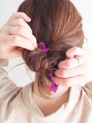 ギブソンタックのやり方 大人向けのシンプルな簡単まとめ髪 簡単