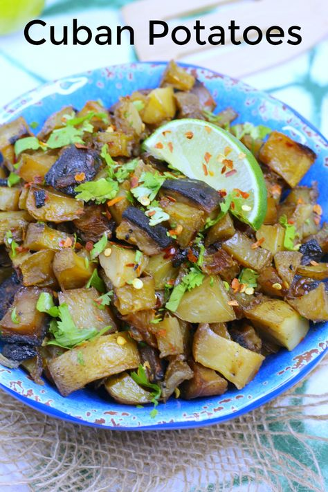 Easy Vegetarian Cuban Potatoes Recipe