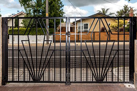 Art Deco Fences French Art Deco Wrought Iron Gate And Fencing Wow
