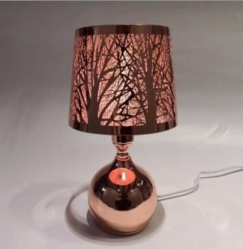Rose Gold Touch Sensitive Aroma Lamp Touch Of Gold Lamp Shades Oil Warmer