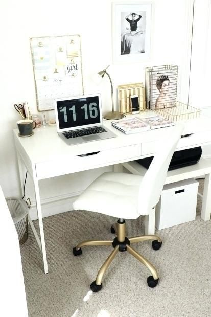 Pin On Home Decor Teenage bedroom desk ideas
