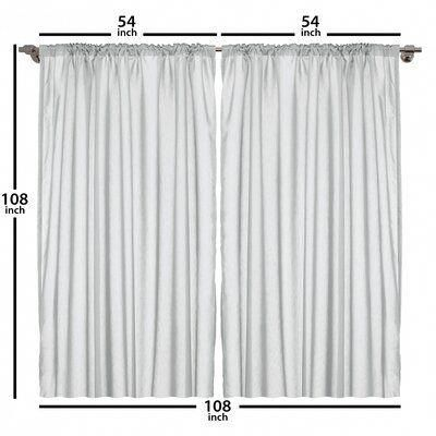 East Urban Home Tree Room Darkening Rod Pocket Curtain Panels Size Per Panel 54 X 108 Greatlivi Rod Pocket Curtain Panels Rod Pocket Curtains Window Drapes