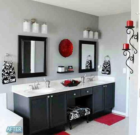 Love This Look Gray Bathroom Decor