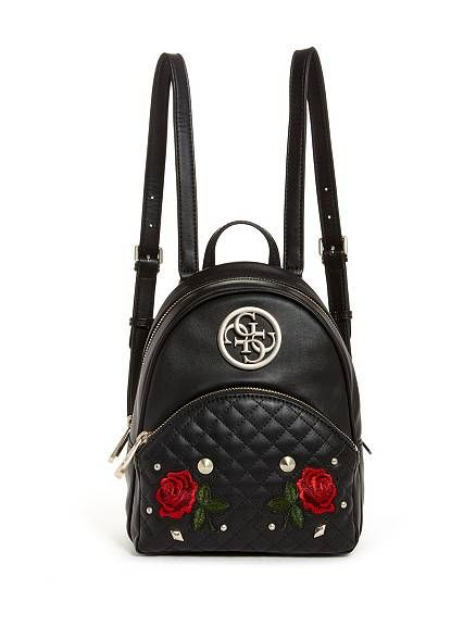 Ryann Embroidered Rose Backpack | | Wantable