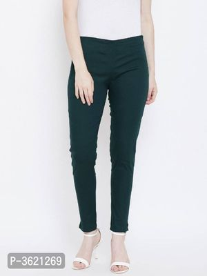 Women Cotton Stretchable Pant | Pants for women, Slim fit dress