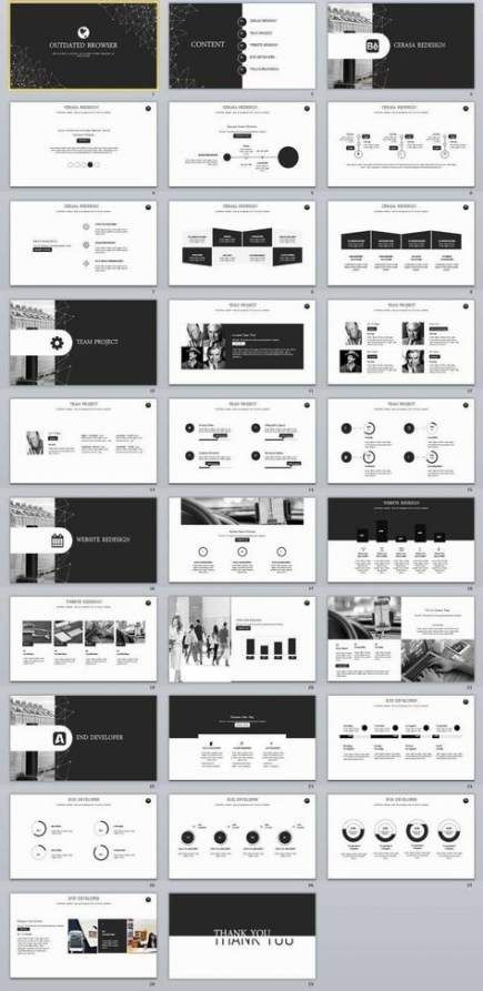 Design Ppt Black 54 Trendy Ideas Presentation Design Layout Business Powerpoint Templates Powerpoint Design Templates
