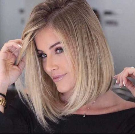 Bob hairstyles with blonde highlights 2017 - Top Trends Short Bobs Haircuts Look Sexy and Charming!