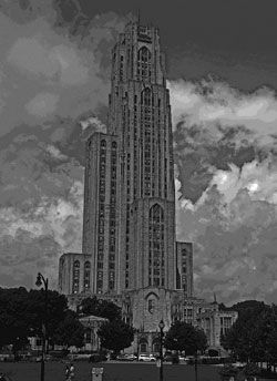 Haunted Cathedral of Learning-Pittsburgh, PA