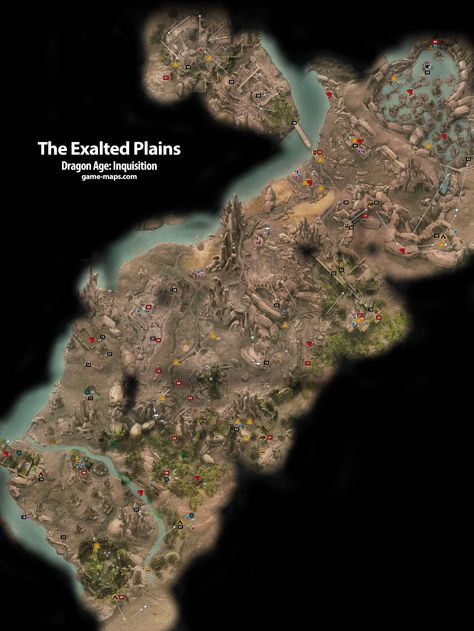 Prima Games Game Walkthroughs Pinterest Dragon age inquisition - new osrs world map in game