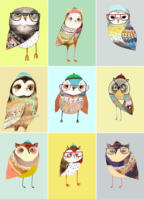owl chart by Ashley Percival