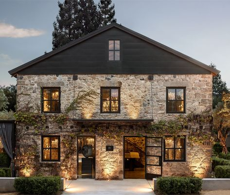 Restoration Hardware's Napa Valley Compound Is Its Most Luxe Design Yet - Exterior Design Napa Valley, Future House, My House, Living Haus, Stone Houses, My Dream Home, Exterior Design, Exterior Paint, Modern Farmhouse