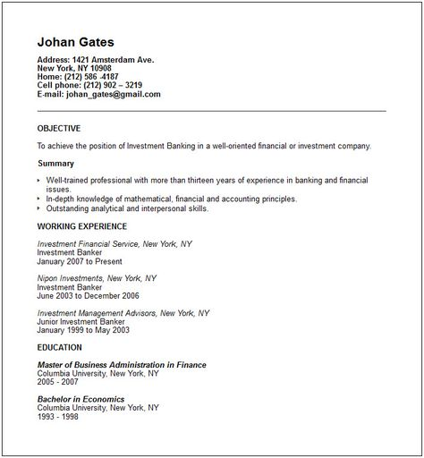 Contract Administrator Resume Administrative Resume Samples - investment banking resume sample