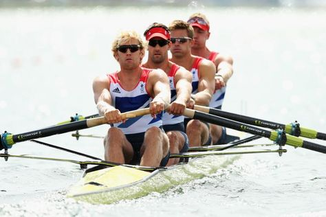 GOLD! Team GB take gold in the Men's Heavyweight Coxless Four's holding off the challenge of Australia and picking up our 3rd Gold at Eton Dorney. Congratulations to Andrew Triggs Hodge, Tom James, Pete Reed and Alex Gregory, sensational rowing gentlemen.