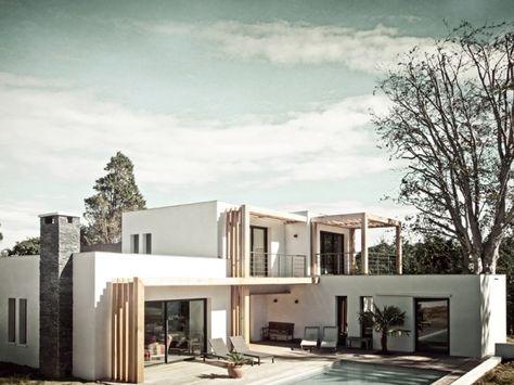 Construction d\'une villa à Biarritz en 2019 | Plan maison ...
