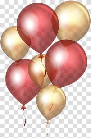 Maroon And Gold Balloon Illustration Balloon Gold Red Gold Balloons Transparent Background Png Clip Balloon Illustration Gold Balloons Birthday Illustration