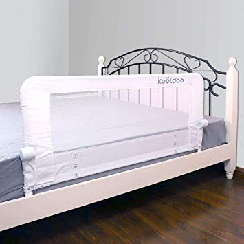 Kooldoo 43 Fold Down Toddlers Safety Bed Rail Children Bed Guard