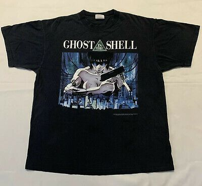 Ad Ebay Url Vintage 1995 Ghost In The Shell Anime T Shirt Powerpro By Oneita 90 S Xl Manga In 2020 Anime Shirt Shirts T Shirt