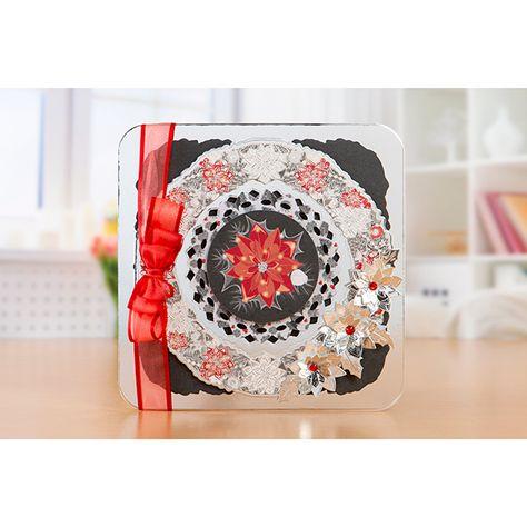 Kanban Christmas Floral Klick Cardmaking Kit | Card making ...