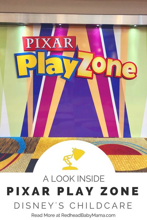 An Inside Look at Disney's Pixar Play Zone: Disney's Childcare - Redhead Baby Mama | Atlanta Blogger