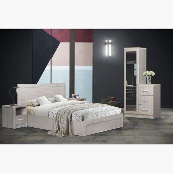 طقم غرفة نوم كينج 5 قطع من ريجا 180x200 سم بيج In 2020 King Bedroom Sets King Bedroom Bedroom Set