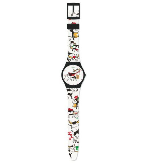 Swiss made, the Swatch watch MAXI GRÜEZI SWATCH CLUB features a not defined movement, a not defined strap and a plastic watch head. Discover more Maxi Swatch Maxi Swatch on the Swatch United States website.