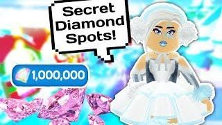 Codes For Roblox Royale High For Robux My Top Secret Diamond Spots In Royale High School Roblox Roblox Pic Code High