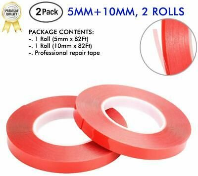 Sponsored Ebay Llpt Double Sided Tape 5mm 10mm 2 Rolls X 164ft For Phone Repair Lcd S In 2020 Repair Tape Tape Double Sided Tape