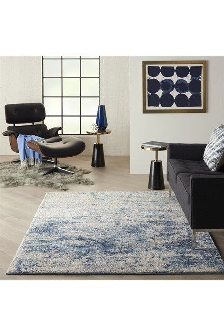 Kathy Ireland By Nourison Ivory Shore Ki 61 Rugs Rugs Direct In 2020 Blue Home Decor Modern Area Rugs Rugs In Living Room