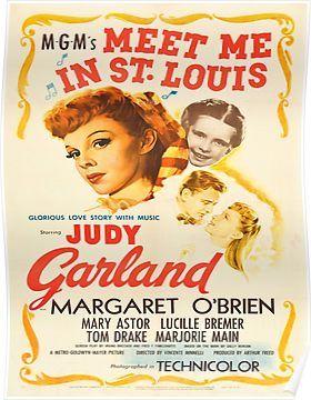 Vintage poster - Meet Me in St. Louis Poster
