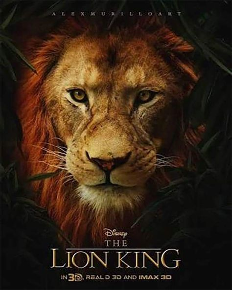 The live action Lion king movie 2019