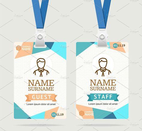 43 Professional Id Card Designs Psd Eps Ai Word Desain Gambar