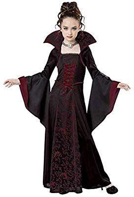 Hcxbb B Halloween Kostum Vampire Queen Kostum For Madchen Kostum Outfit Kinderkleid 7 8 Jahre Farbe Re Vampir Kostum Kinder Vampir Kostum Madchen Kostume