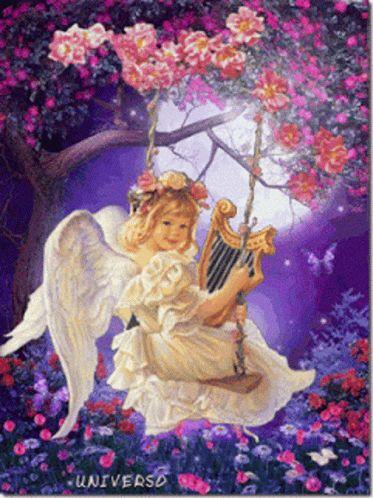 Angel De Mi Guarda Cute GIF - AngelDeMiGuarda Angel Cute - Discover & Share GIFs