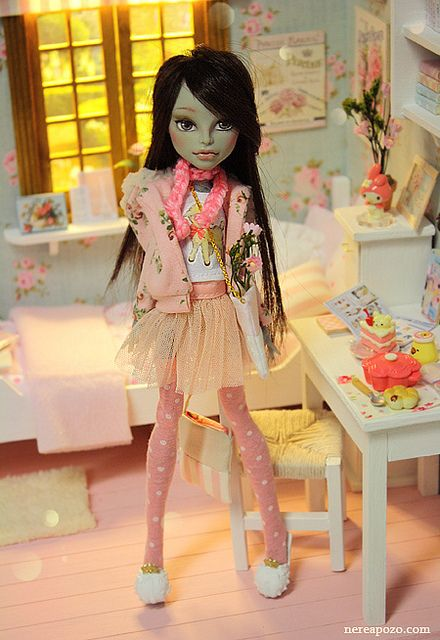 Meresa - ooak custom Monster high | Flickr - Photo Sharing!