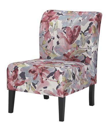 Another Great Find On Zulily Pink Floral Triptis Accent Chair
